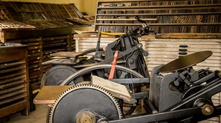 Sentinel Printing Press