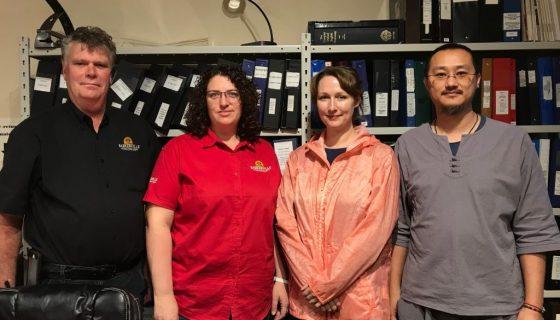 Photo_Ed Coleman, Mandy Kilsby, Anna Kelly and Dr. Mark Yan Wong (2)