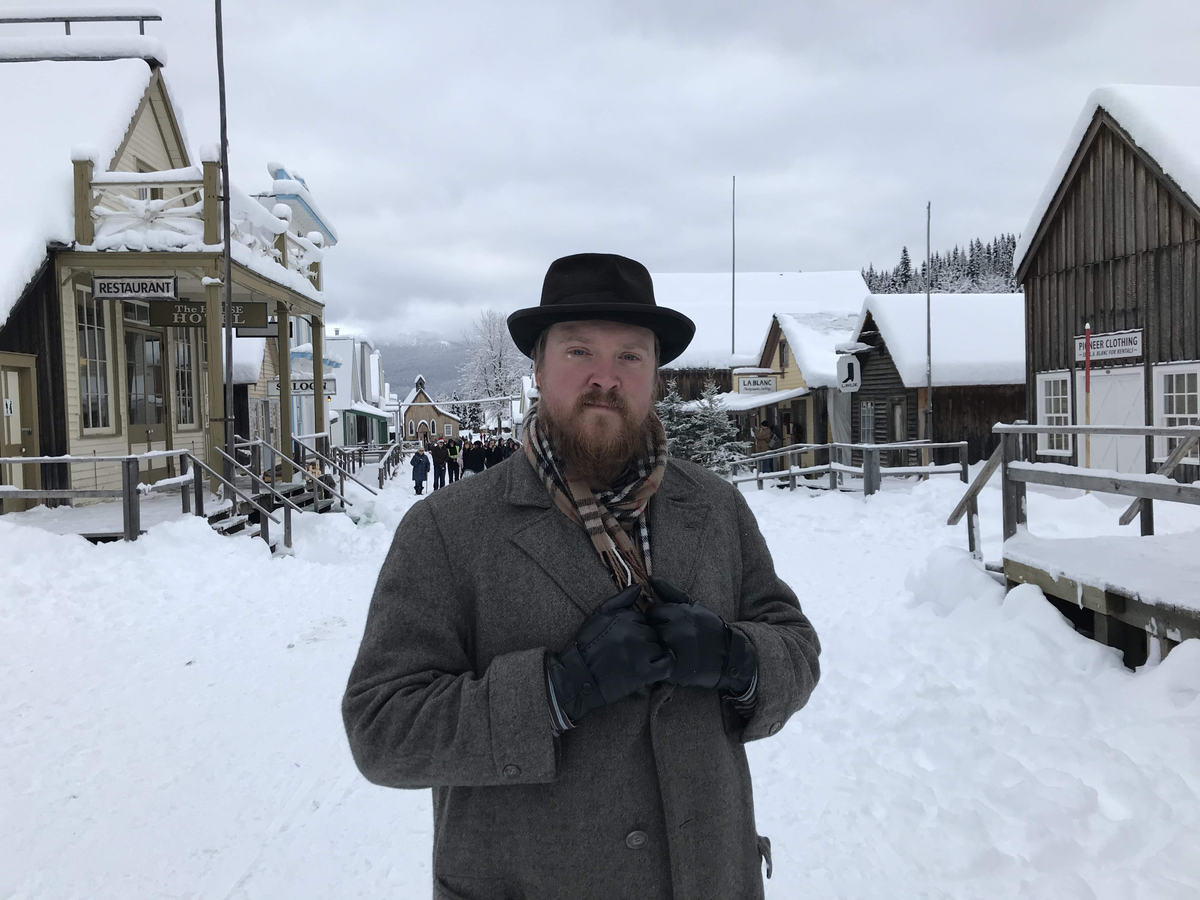 Stewart Cawood at Victorian Christmas